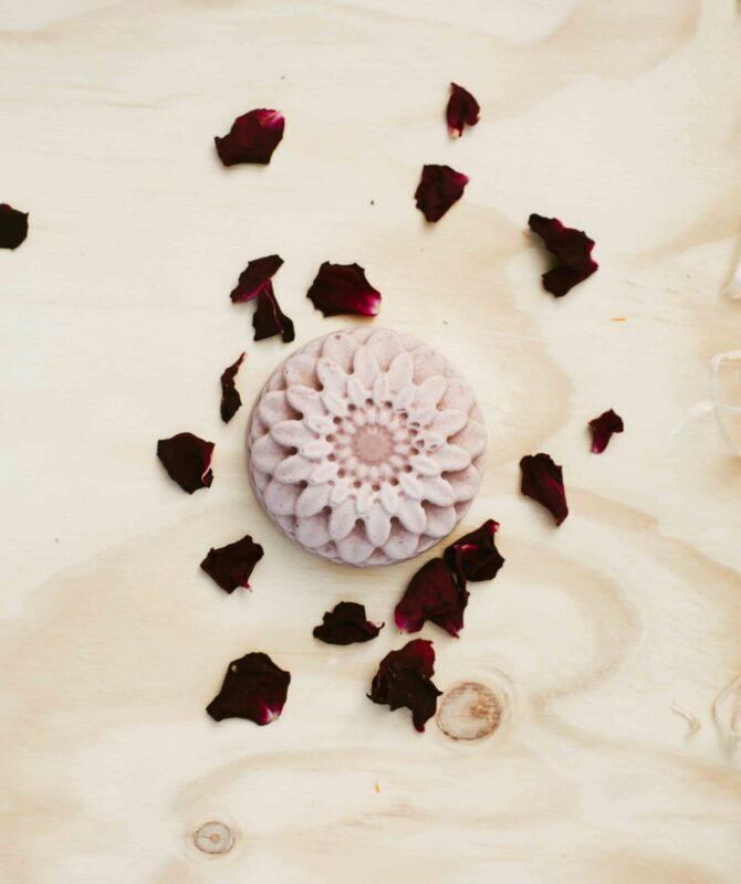 ROSEHIP AND SHEA BUTTER SOAP