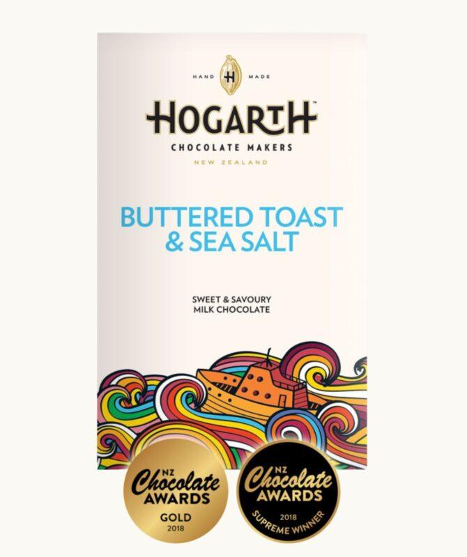 hogarth buttered toast chocolate bar
