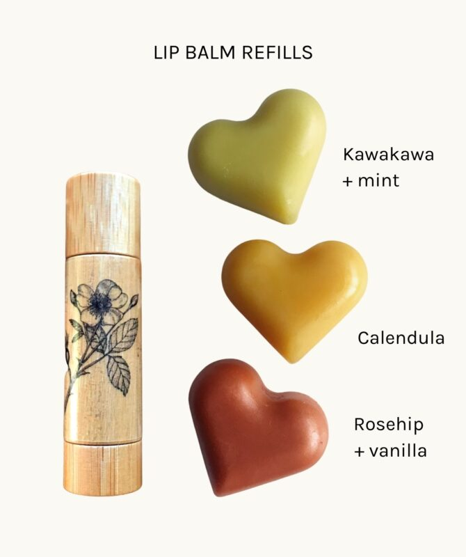 Lip balm refill options
